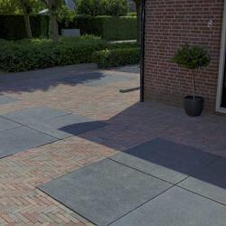 Oud hollandse tegels 100x100x5 cm Carbon (gewapend)