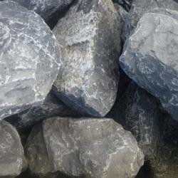 Breuksteen grijs 40-60 mm voor Steenkorven