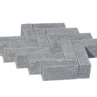 Oud hollandse kleinplaveisel grijs 15x5x7 cm