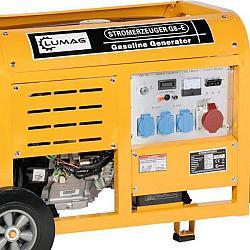 Lumag Generator G8E met starten op afstand