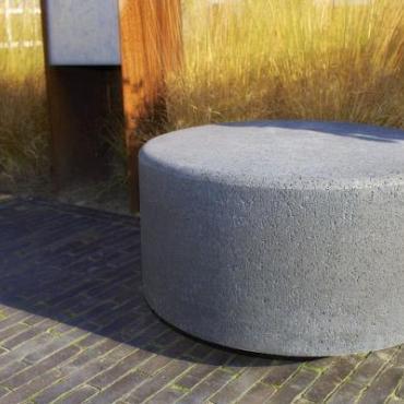 Oud hollandse sokkel 90x50x15 cm antraciet