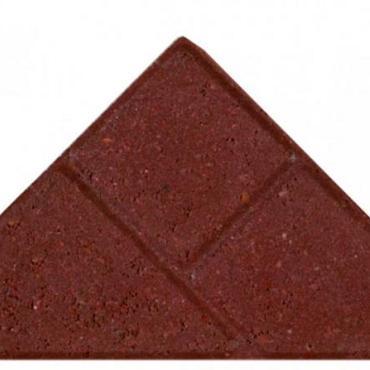 Bisschopsmuts BSS 8 cm KOMO rood met deklaag