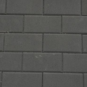 BSS 8cm KOMO zwart met deklaag 36st/lg