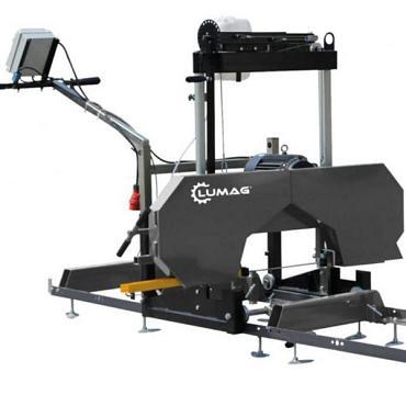 Lumag Boom/plankenzaagmachine BSW66