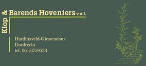 Klop en Barends Hoveniers
