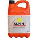 5 liter Aspen 2 ( mengsmering voor 2 takt ) ORANJE