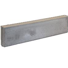 Kunstgras opsluitband Grijs 8x20x100 cm