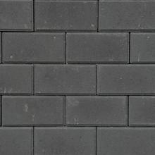 Halve BSS 8cm KOMO zwart met deklaag