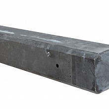 Beton Paal antraciet 10x10x280 cm