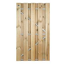 Grenen frame deur Universeel 180x100