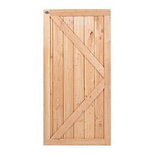 Douglas deur rabat dicht verticaal 180x99